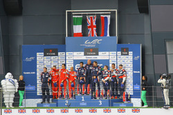 LMGTE AM Podium