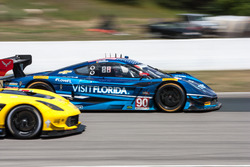 #90 Visit Florida Racing Corvette DP: Ryan Dalziel, Marc Goossens