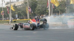 F1 Showcar Run Bangkok