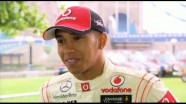 Interview - Lewis Hamilton on  Silverstone 2011