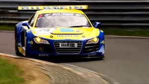 Audi R8 at the Nurburgring