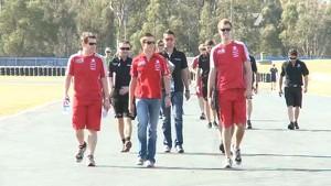 Track walk : Queensland Raceway
