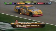 Busch In Flames, McMurray In Wall - Las Vegas Motor Speedway 2011