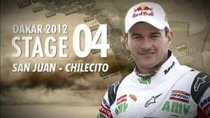 Dakar 2012 - Marc Coma -  Stage 4