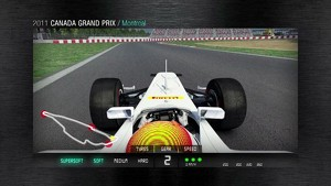 2011 Formula 1 Canadian GP - 3D Simulation