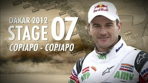 Dakar 2012 - Marc Coma - Stage 7