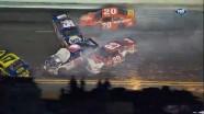 Crash During Lap 54 - Budweiser Shootout - Daytona - 02/18/2012