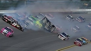 Chaotic finish Talladega Good Sam 500 Last Lap Big Wreck