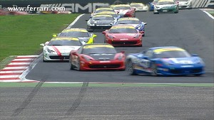 2012 Ferrari Challenge Europe - Highlights Vallelunga - Coppa Shell