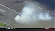 Allmendinger's Turn 4 Wreck