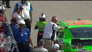 Danica Patrick blows motor in 2013 Drive4COPD Nationwide race