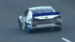 Casey Mears Loses a Bumper!