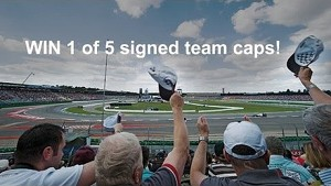 Win 1 of 5 signed team caps - Sauber F1 Team
