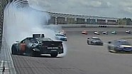 NASCAR Kurt Busch Wrecks at Michigan 2013