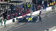 NASCAR Clements spins into pit road | Indiana 250
