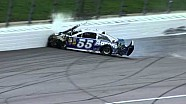 NASCAR Vickers' day ends early | Kansas Speedway (2013)