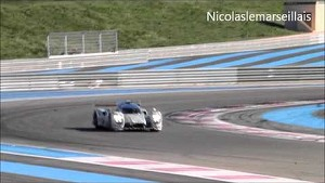 Porsche LMP1 testing at Circuit Paul Ricard
