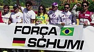 Massa and other drivers pray for Schumacher at go-karting event