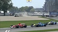 Nick Heidfeld big F1 flip @ Indy 2006