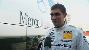 DTM test Vitaly Petrov - Interview