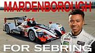 Jann Mardenborough for Sebring 12 Hour