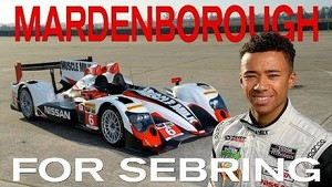 Jann Mardenborough for Sebring 12 Hour