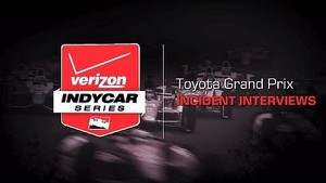 2014 Toyota Grand Prix: Incident Interviews