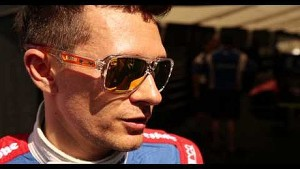 Mikhail Aleshin talks about his day of qualifying at Barber Motorsports Park