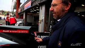 FIA Technical Delegate, Danis Chevrier explains LMP1 regulations and technics