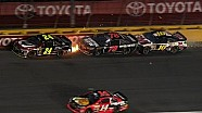 Gordon takes Truex Jr. & Biffle into the wall - 2014 All-Star Race