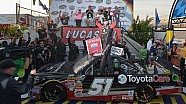 Victory Lane: Busch four-for-four in NCWTS