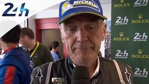 Dr. Ullrich talks about Audi 1-2: Le Mans 2014