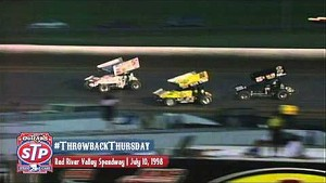 #ThrowbackThursday: World of Outlaws Sprint Cars July 10th, 1998 Red River Valley Speedway