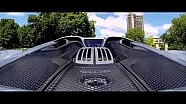 Porsche 918 Spyder: first electric drive through London