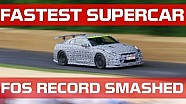 Fastest ever supercar at Goodwood FOS - GT-R Nismo 'Time attack'