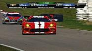 GTLM leader destroys sign - Canadian Tire Motorsports Park - 2014 TUDOR Championship