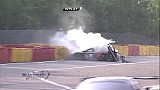 Spa 24h 2014, Karim A Ojjeh's crash at Eau Rouge