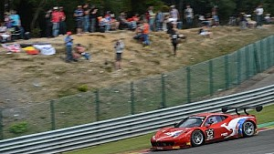 Craig Lowndes racing at the Total 24 Hours of Spa