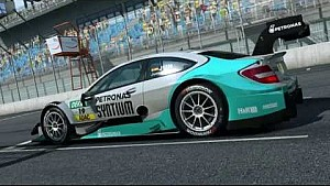 Lausitzring - Virtual Lap with Daniel Juncadella in the Mercedes-Benz DTM Beast!