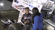 World of Outlaws STP Sprint Car Series Victory Lane from Kokomo Speedway