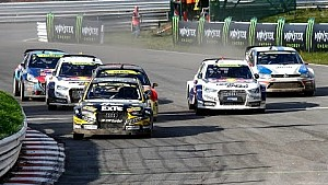 Photo Finish - 2014 World RX Germany