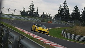 2015 Corvette C7 Z06 testing at the Nürburgring Nordschleife