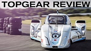 TopGear review - 750BHP / 200MPH electric racecar - Nissan ZEOD RC