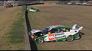 Pye and Reynolds Huge Start Crash at Eastern Creek 2014 V8 Supercars