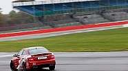 Hot laps around Silverstone with F1 drivers