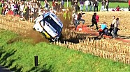 Rallye Condroz 2014 Crash Peugeot 208 R2