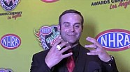 Matt Hagan on the red carpet at the Mello Yello Awards