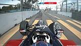 Formula E 2014. Putrajaya. Jaime Alguersuari hit the wall