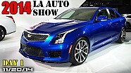 2014 LA Auto Show Day 1 - Cadillac ATS-V, Audi Prologue, Mercedes-Maybach S600 - Fast Lane Daily