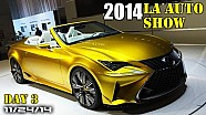 2014 LA Auto Show Day 3 - Lexus LF-C2, Mazda CX-3, Bentley Grand Convertible - Fast Lane Daily